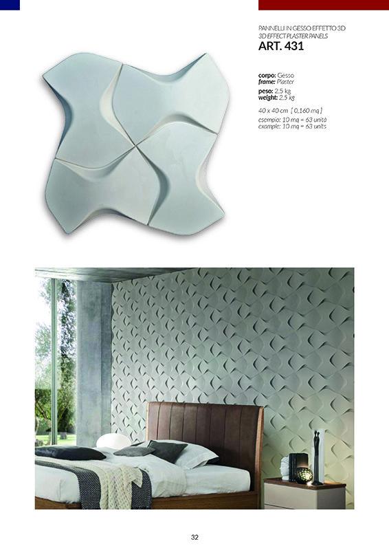 PANNELLI EFFETTO 3D / art.431