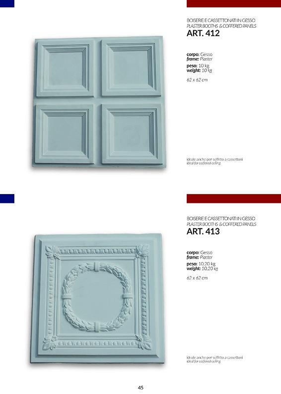 BOISERIE / art.412-413