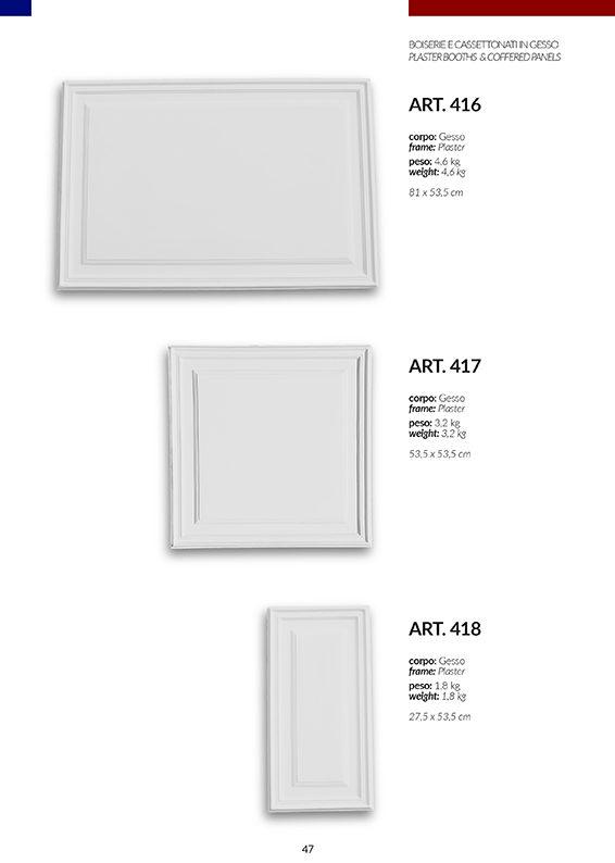 BOISERIE / art.416-417-418