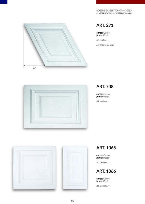 BOISERIE / art.271-708-1065-1066