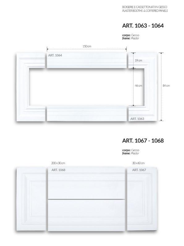 BOISERIE / art.1063-1064-1067-1068